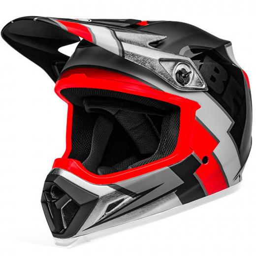 Capacete Bell MX 9 Twitch Replica Mips