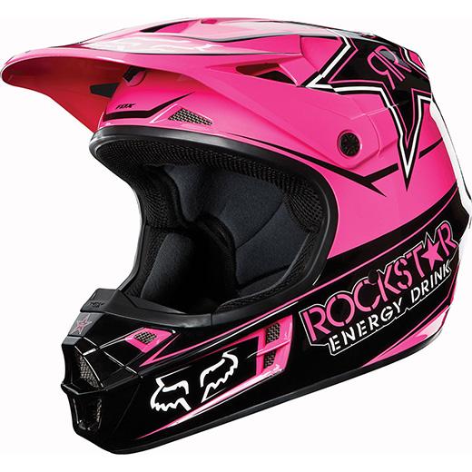 Capacete Fox V1 Rockstar 2013