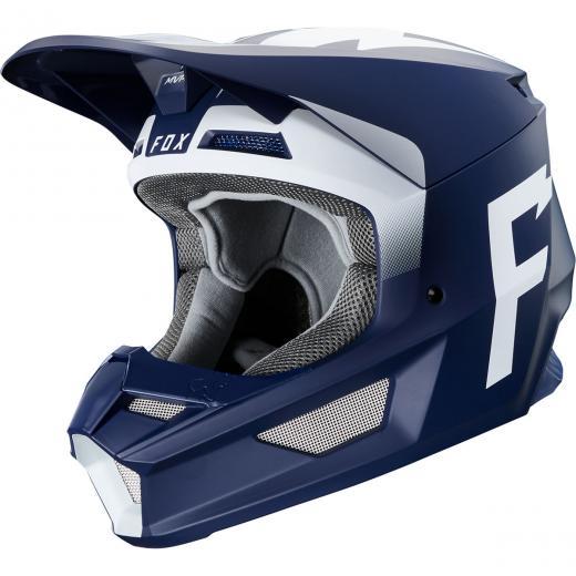 Capacete Fox V1 Werd - Azul 2020