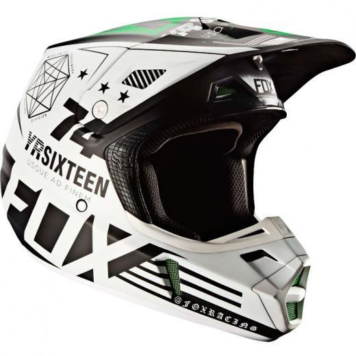 Capacete Fox V2 Monster / Pro Circuit