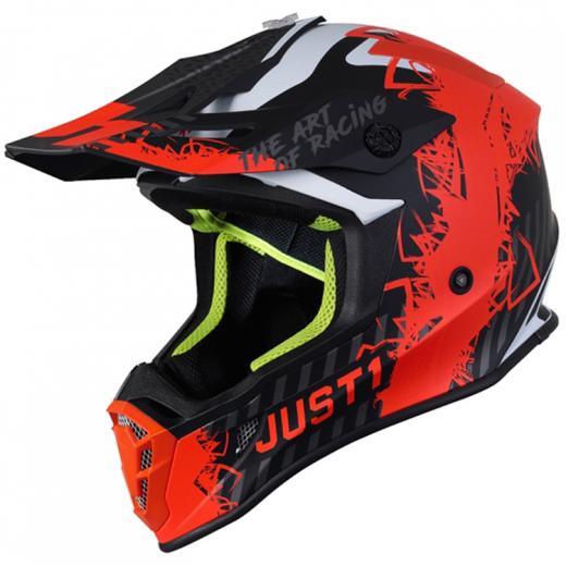 Capacete Just1 J38 Mask Laranja