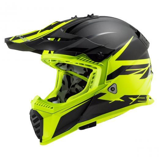 Capacete LS2 MX437 Fast Evo Roar