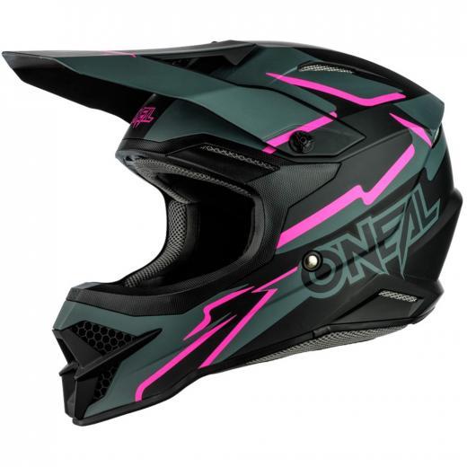 Capacete Oneal 3Series Voltage Black/Pink