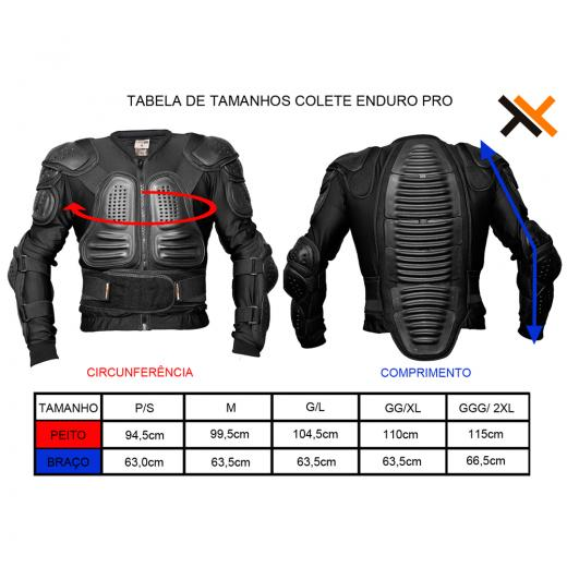 Colete Mattos Racing Enduro Pro - MX Parts 6e6797b5fe242