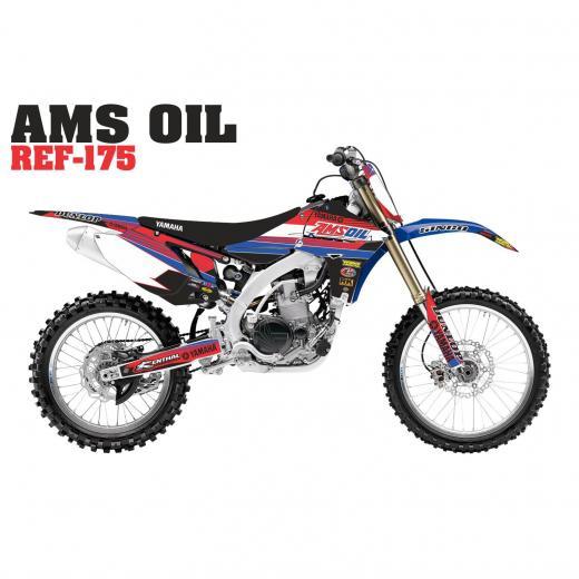 Kit Adesivo Completo AMS Oil