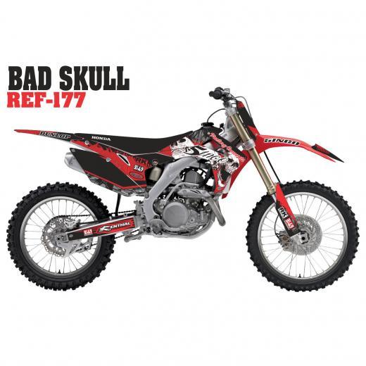 Kit Adesivo Completo Bad Skull