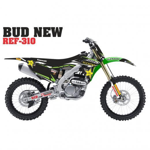 Kit Adesivo Completo Bud New