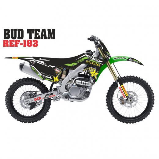 Kit Adesivo Completo Bud Team