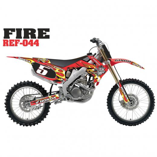 Kit Adesivo Completo Fire