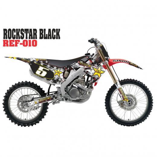 Kit adesivo completo ROCKSTAR - Todas Motos