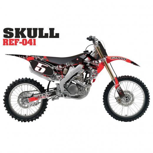 Kit Adesivo Completo Skull