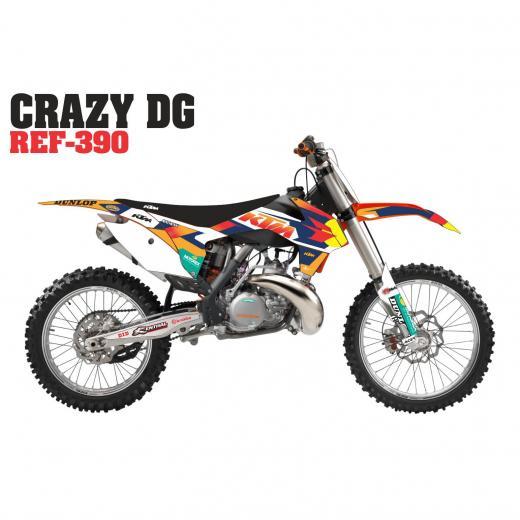 Kit Adesivo Completo Crazy DG