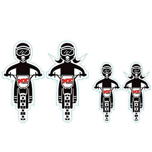 Kit Adesivo Fam�lia Motocross
