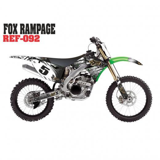 Kit Adesivo Fox Rampage