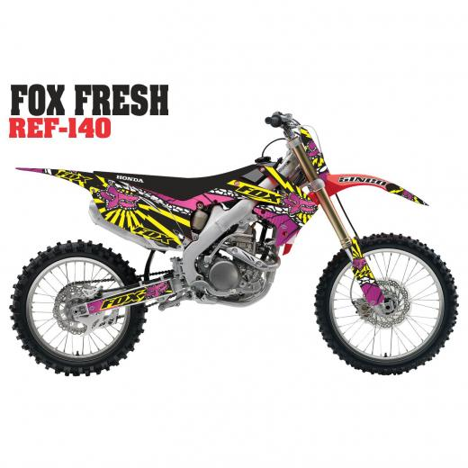 Kit Adesivo Completo Fox Fresh