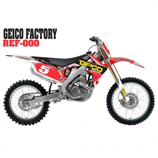 Kit Adesivo Completo Geico Factory