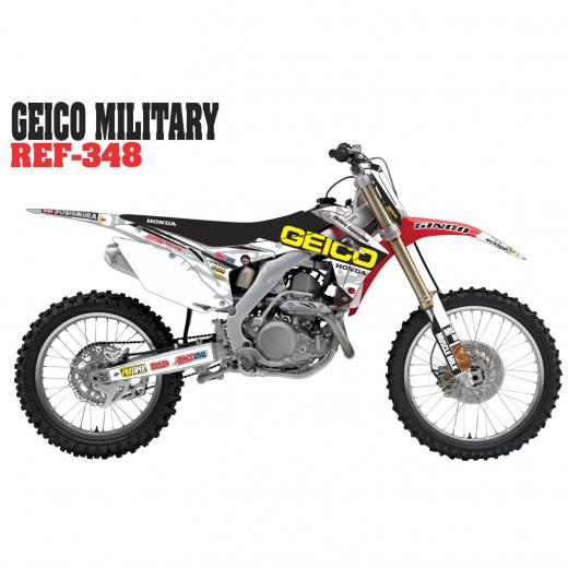 Kit Adesivo Completo Geico Military