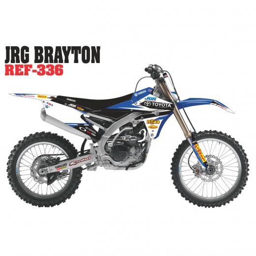 Kit Adesivo Completo Jgr Brayton