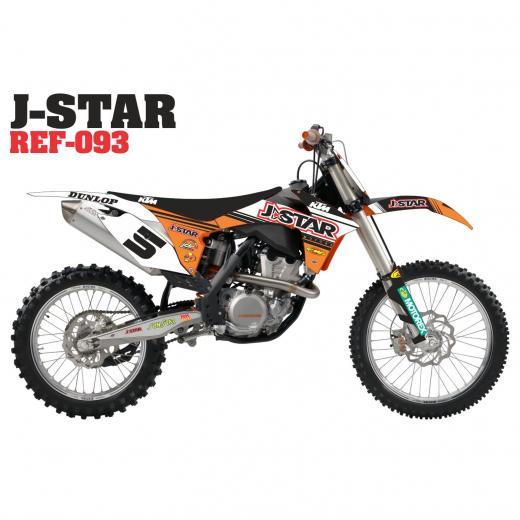 Kit Adesivo Completo J-Star