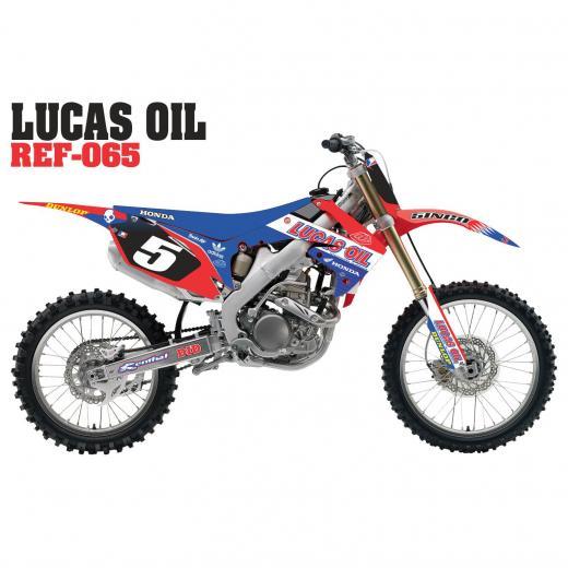 Kit Adesivo Lucas Oil