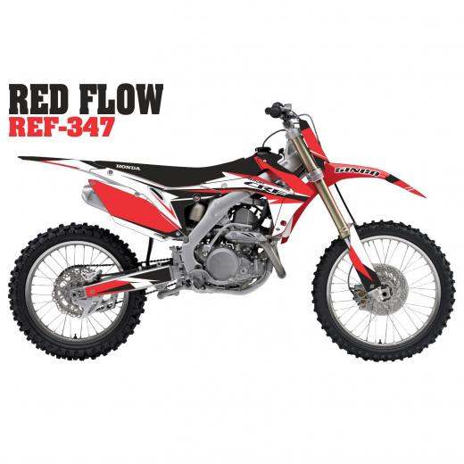 Kit Adesivo Completo Red Flow