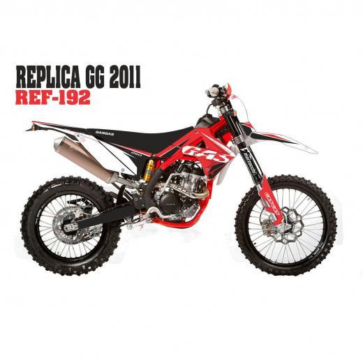 Kit Adesivo Completo R�plica GasGas 2011