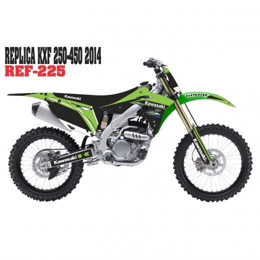 Kit Adesivo Completo R�plica KXF 250/450 2014