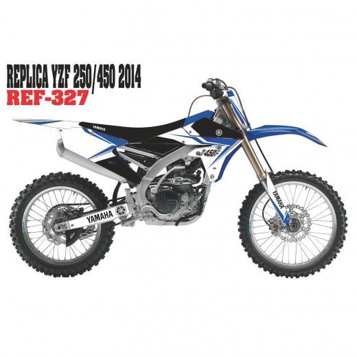 Kit Adesivo Completo R�plica YZF 250/450 2014