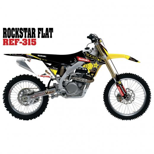 Kit Adesivo Completo Rockstar Flat