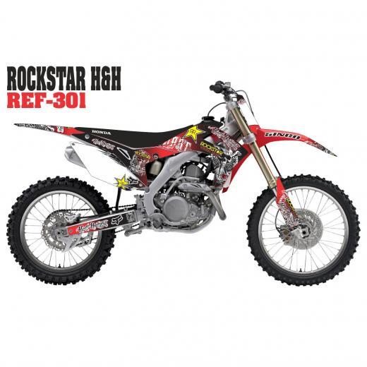 Kit Adesivo Completo Rockstar HH