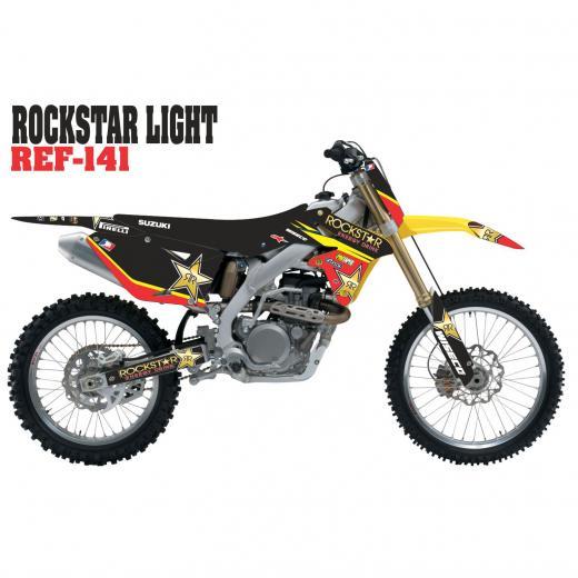 Kit Adesivo Completo Rockstar Light