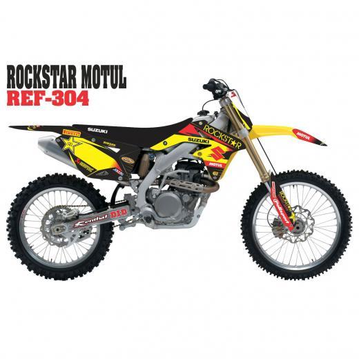 Kit Adesivo Completo Rockstar Motul
