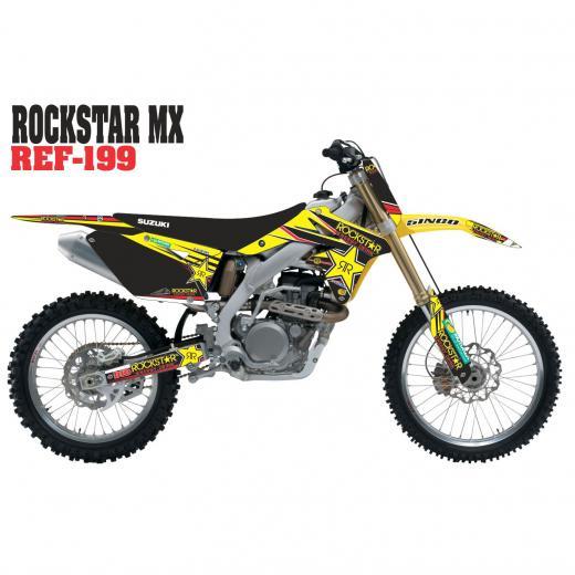 Kit Adesivo Completo Rockstar MX