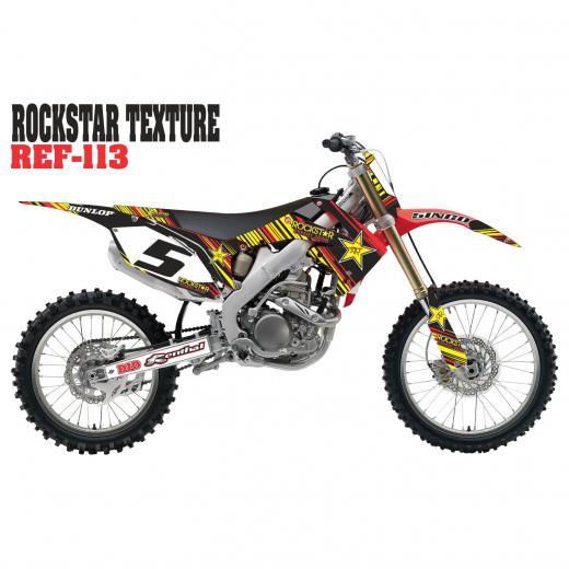 Kit Adesivo Completo Rockstar Texture