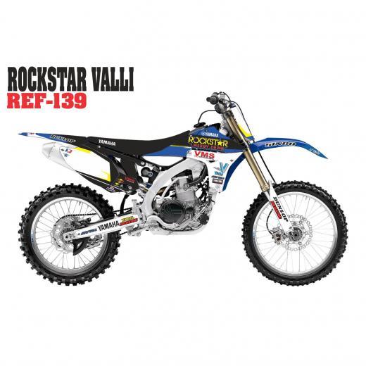 Kit Adesivo Rockstar Valli