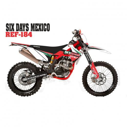 Kit Adesivo Completo Six Days Mexico