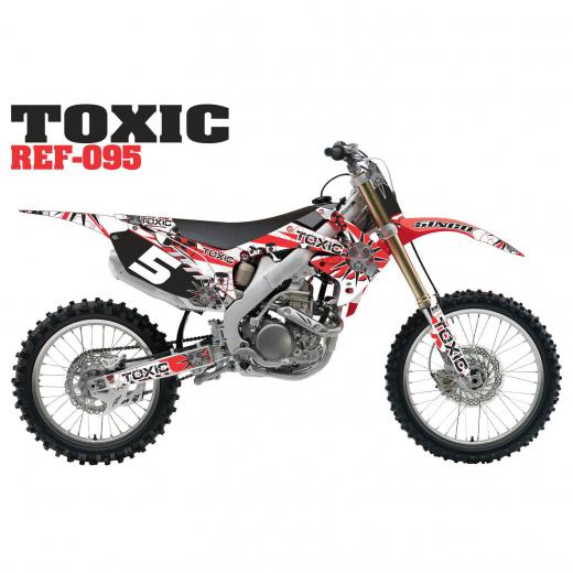 Kit Adesivo Completo Toxic