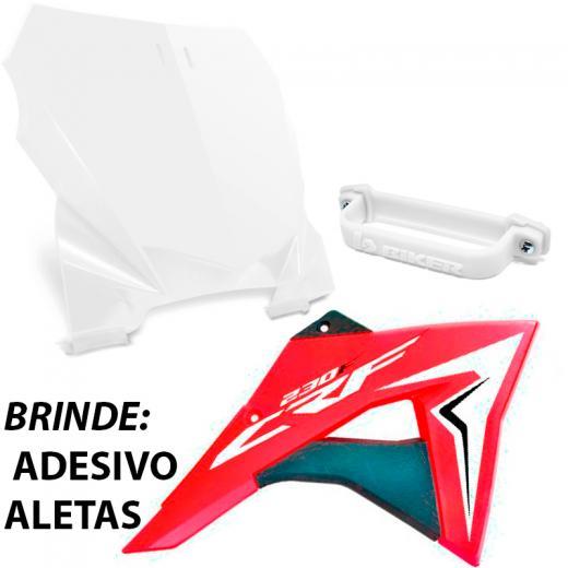 Kit Aleta + Number Plate Biker CRF 230