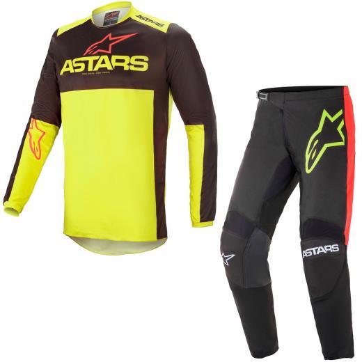 Kit Cal�a + Camisa Alpinestars Fluid Tripple 2021