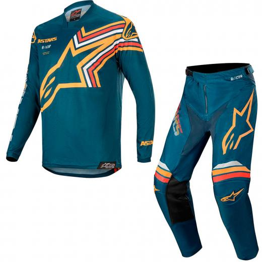 Kit Cal�a + Camisa Alpinestars Racer Braap 2020