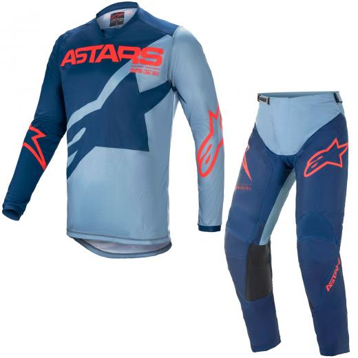 Kit Cal�a + Camisa Alpinestars Racer Braap 2021
