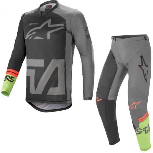 Kit Cal�a + Camisa Alpinestars Racer Compass 2021