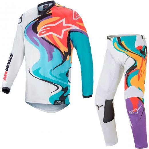 Kit Cal�a + Camisa Alpinestars Racer Flagship 2021