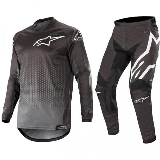 Kit Cal�a + Camisa Alpinestars Racer Graphite