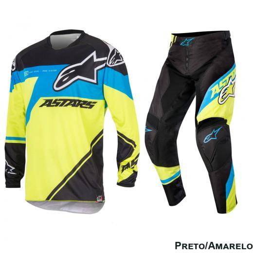 Kit Cal�a + Camisa Alpinestars Racer Supermatic