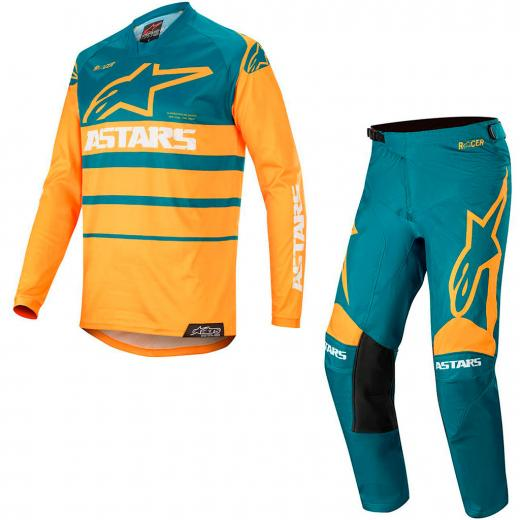 Kit Cal�a + Camisa Alpinestars Racer Supermatic 2020