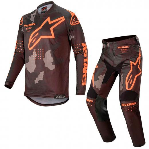 Kit Cal�a + Camisa Alpinestars Racer Tactical 2020