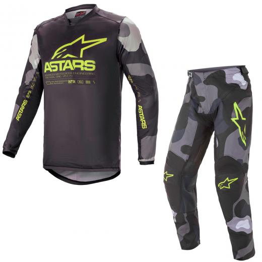 Kit Cal�a + Camisa Alpinestars Racer Tactical 2021