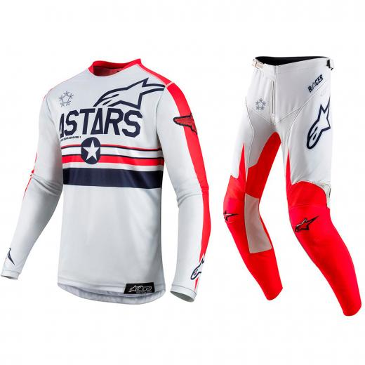 Kit Cal�a + Camisa Alpinestars Racer Tech Five Star
