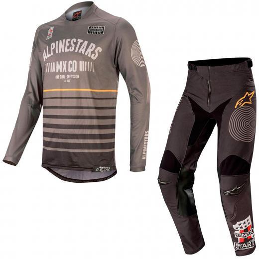 Kit Cal�a + Camisa Alpinestars Racer Tech Flagship 2020